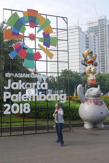 Dukung bersama asian games 2018