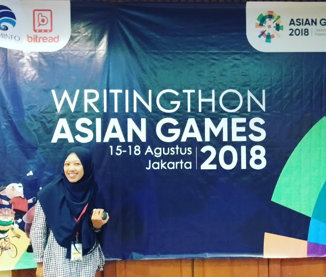 Writingthon Asian Games 2018
