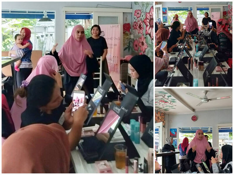 Beauty workshoip dengan IFB dan Lakme Makeup