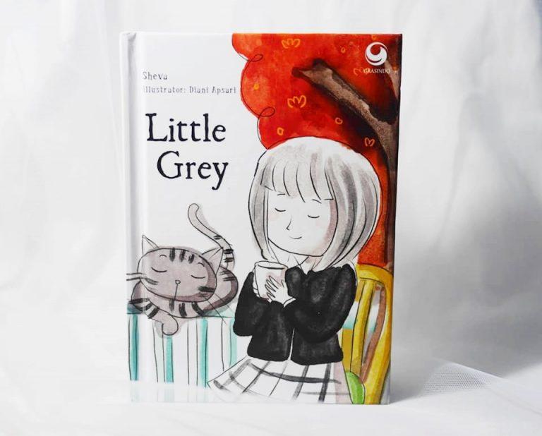 Review buku anak Little Grey
