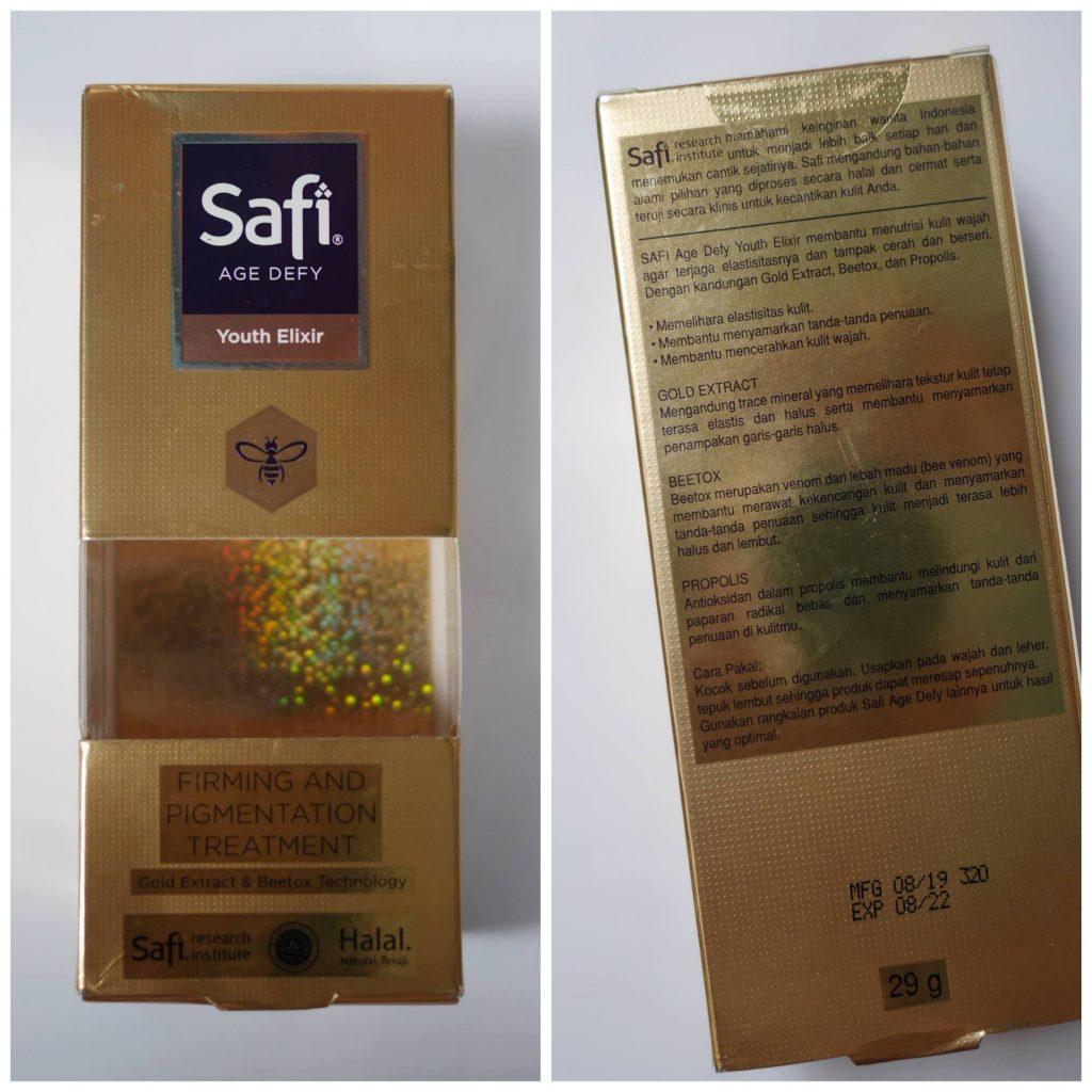 Serum safi youth elixir