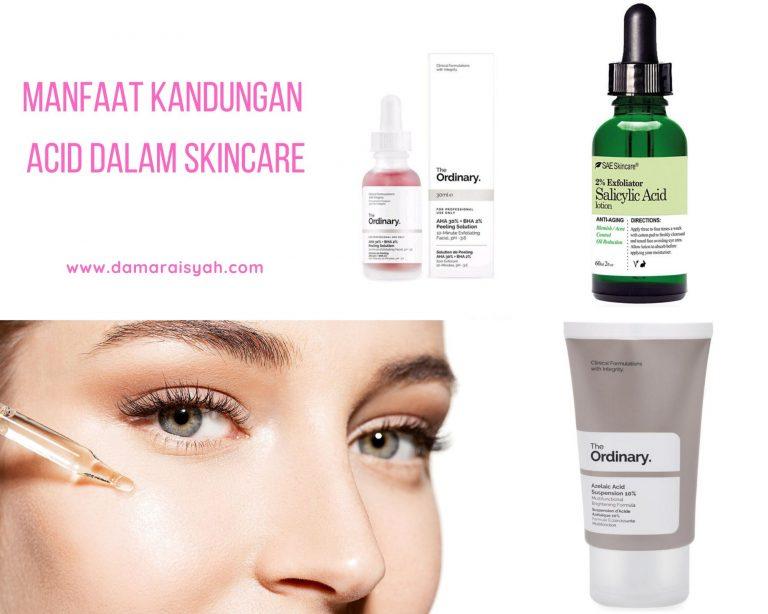 Manfaat acid untuk wajah