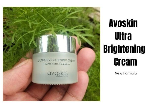 Review Avoskin Ultra Brightening Cream setelah 30 hari pemakaian