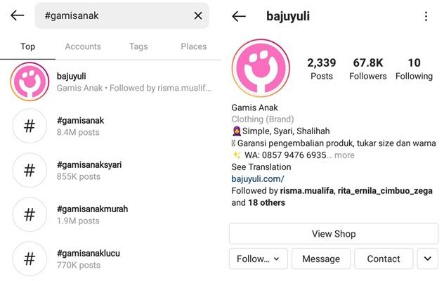Instagram bajuyuli.com