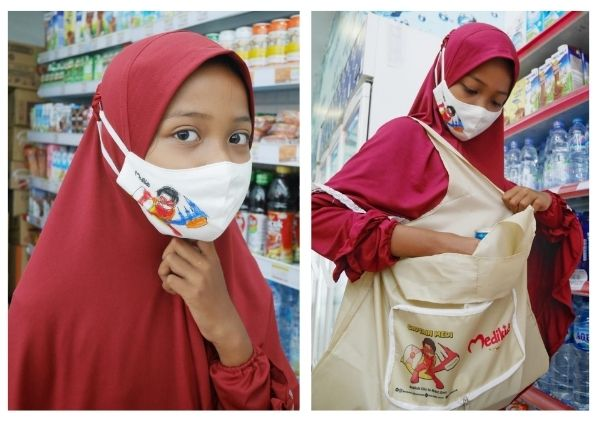 reusable bag dari Medikids