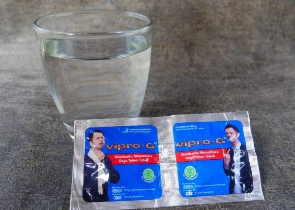 Vipro-G Tablet Effervescent untuk menjaga stamina