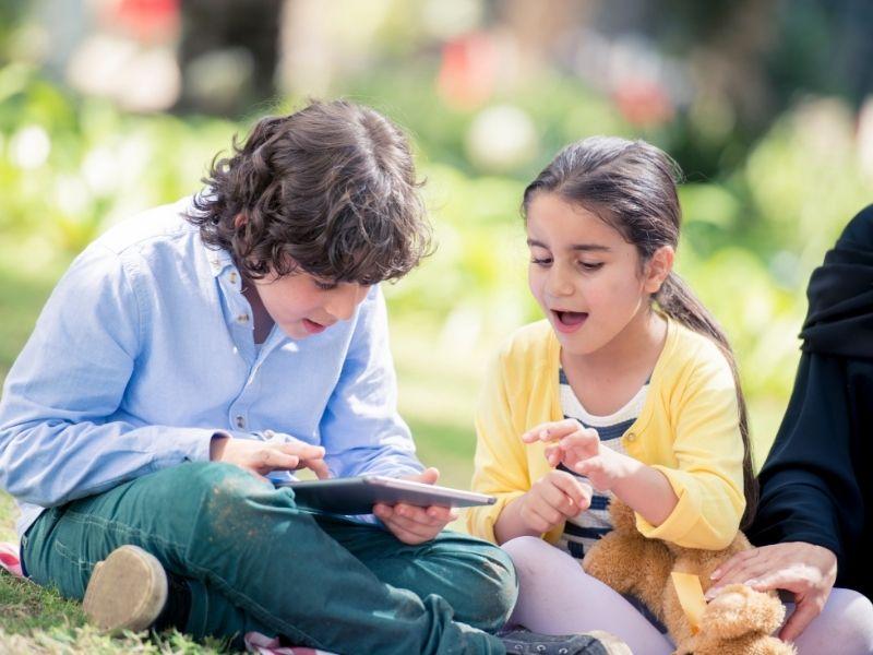 Keterampilan literasi digital pada anak