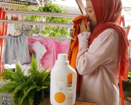 Oh My Orange Laundry Detergent dengan aroma citrus