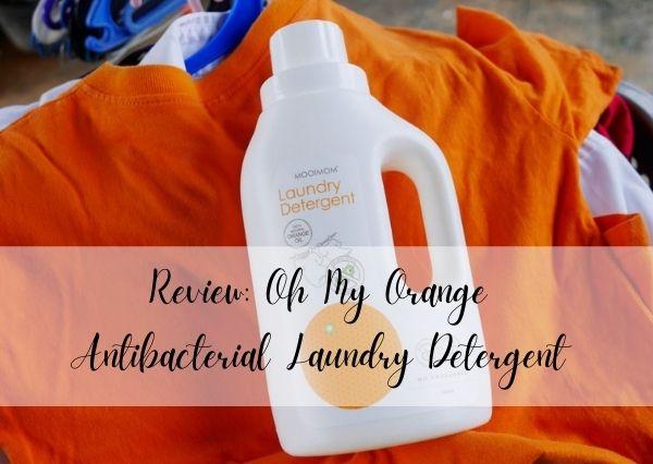 Oh My Orange Laundry Detergent Mooimom