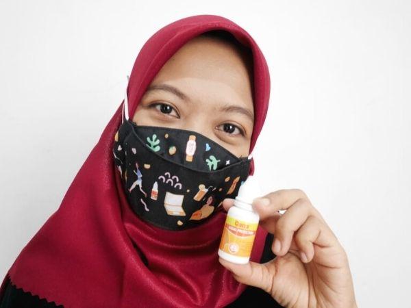 izin edar QUIXX nasal spray