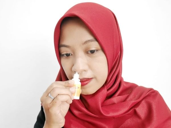 Cara pakai QUIXX nasal protection