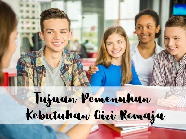 Variasi nutrisi untuk remaja
