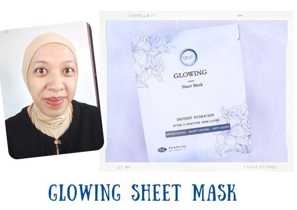 Kandungan sheet mask DL Slim