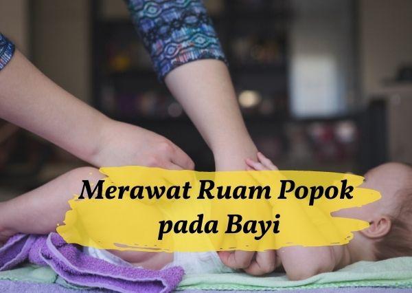Cara menangani ruam popok pada bayi