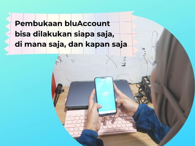 Review jujur aplikasi blu berdasarkan pengalaman mendaftar bluAccount