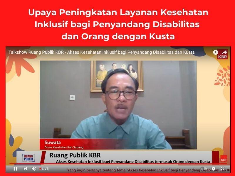 Prevalensi pasien kusta di Kabupaten Subang