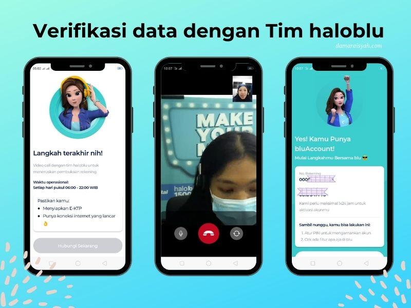 Cara mendaftar aplikasi blu by BCA Digital