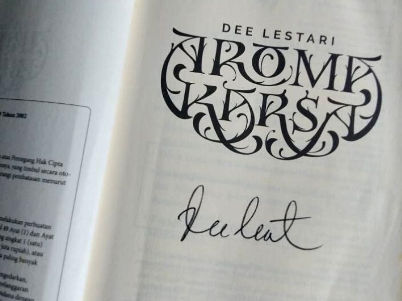 Tokoh cerita dalam novel Aroma Karsa karya Dee Lestari