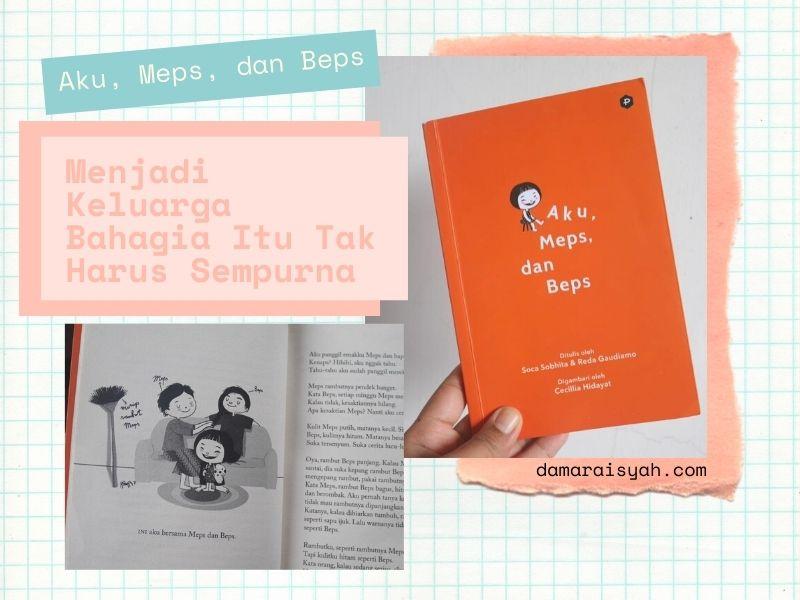 Review novel Aku, Meps, dan beps karangan Soca Sobhita dan Reda Gaudiamo