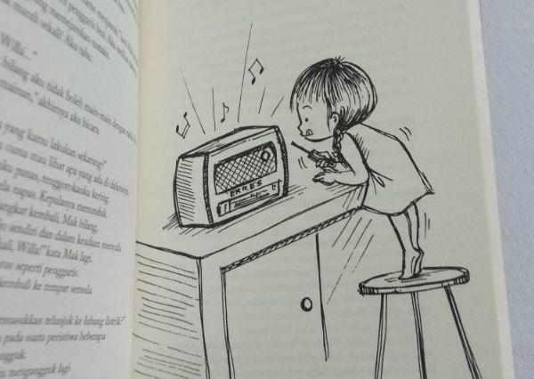 Na Willa novel yang bercerita btentang anak-anak namun mengangkat isu sensistif seperti rasisme