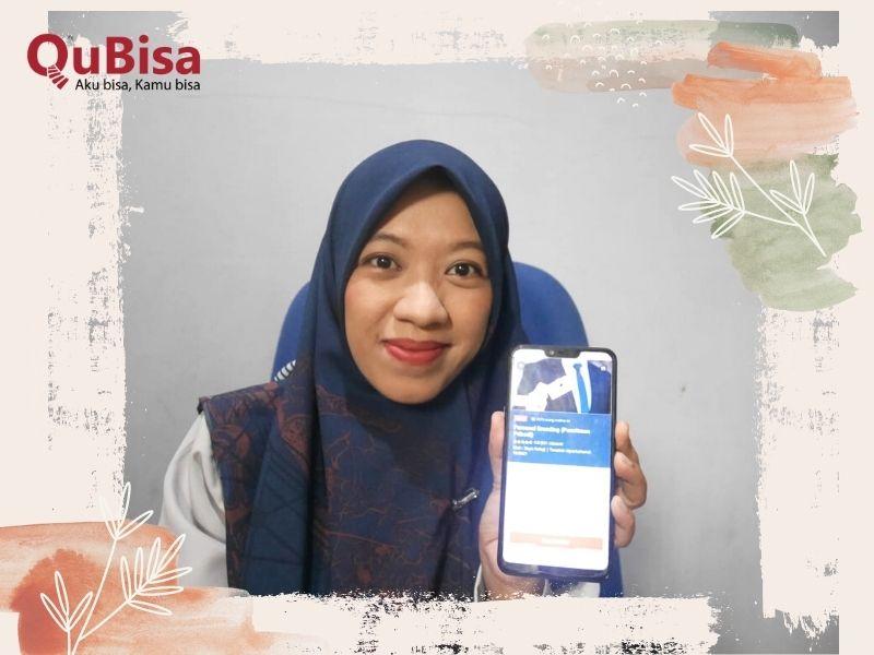 Belajar personal branding dengan aplikasi belajar online QuBisa